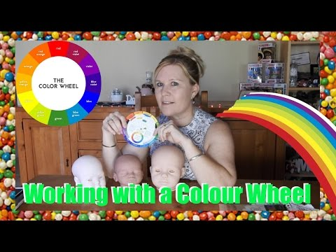 Neutralising your Reborn Baby kit using a Colour Wheel Tutorial
