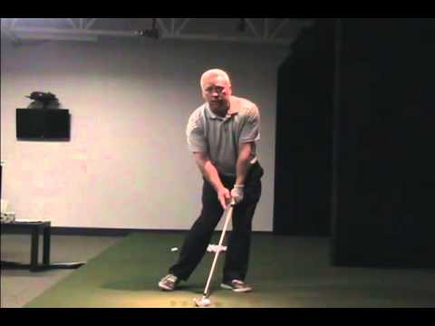 Online Golf Instruction – Professional Impact – Left Foot Right Toe Drill