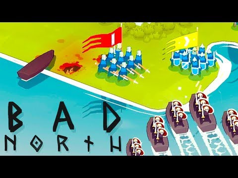 DEFENDING the VIKING Homeland - Bad North Gameplay