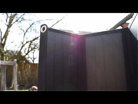 Portables Solarladegerät - RAVPower Solar Charger im Test