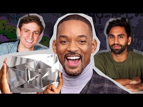 Why does Will Smith have a YouTube channel?