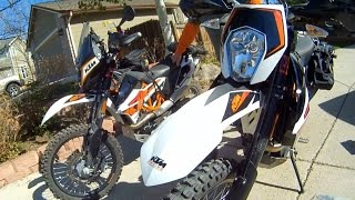 10. Review of TWO 2015 KTM 690R Enduro ABS's. We compare our modifications for riding Moab.