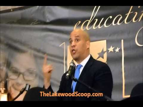 cory booker newark - Newark Mayor Cory Booker Keynote Speaker SCHI Dinner Lakewood.
