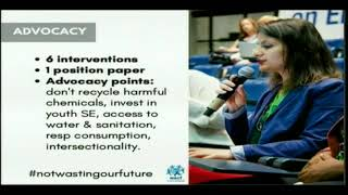 UNEA 3, GMGSF Session 9, Chemicals and Waste: Aleksandra Kumbuli intervention