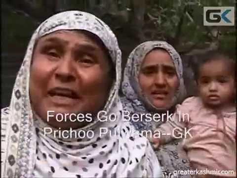 Forces Go Berserk In Prichoo Pulwama