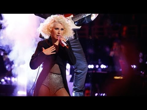 "Christina Aguilera Sings Michael Jackson ""The Voice"", Tessanne & Caroline Sing ""Royals""! VOICE CAP"
