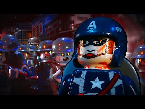 Lego Captain America 3 Nazi Zombies Cool