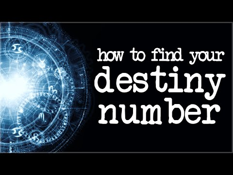 How to find your Destiny Numbers