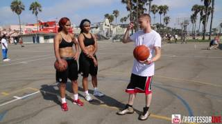 The Professor trains UNLV female players the Gonzalez twins.