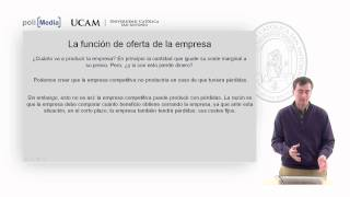Microeconomía II - La Competencia Perfecta (7) - Alfonso Rosa