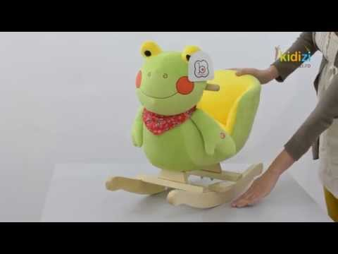 Prezentare video BabyGo balansoar cu sunete