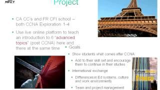 International Collaboration CCNA Capstone (MPICT)