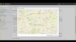 LBS TTEC   Anywhere   Map Manager Configuration