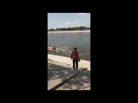 Brita Jawa Timur Proses Pencarian 2 Anak SD Yang Tengelam Di Bendungan Sungai Bengawan Solo 2018