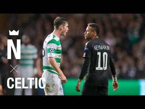 Neymar × Celtic – Highlight skills and goal – Celtic 0-5 Paris 2017