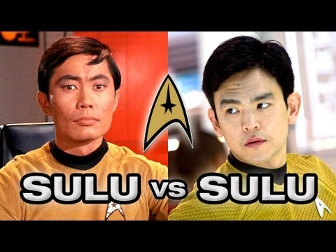 sulu - Actor George Takei starred in the original Star Trek series and movies as Mr. Sulu, a role that John Cho is now playing. Which Sulu is better? These fans dec...