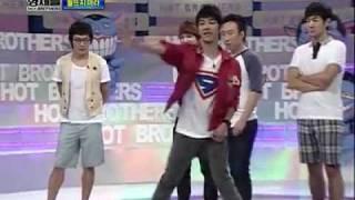 100725 - Beast Gi Kwang dancing to Infinite's 'Come Back Again' @ Hot Brothers