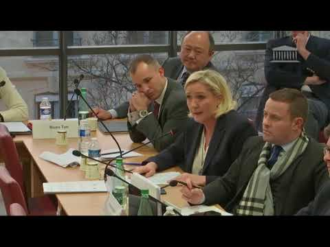 Marine Le Pen opposée au traité européiste et mondialiste d'Aix-la-Chapelle