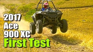 3. 2017 Polaris Ace 900 XC Test Review