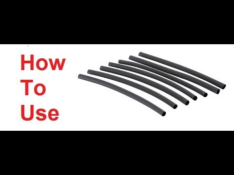 How To Use Heat Shrink Tubing at home