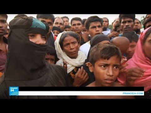 العرب اليوم - شاهد: لاجئو الروهينغا بانتظار المساعدات في مخيمات ببنغلادش