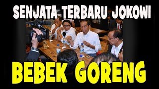 Video SENJATA TERBARU JOKOWI....BEBEK GORENG MP3, 3GP, MP4, WEBM, AVI, FLV April 2019