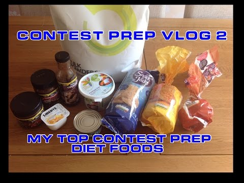 Contest Prep VLOG 2 – My top contest prep diet foods