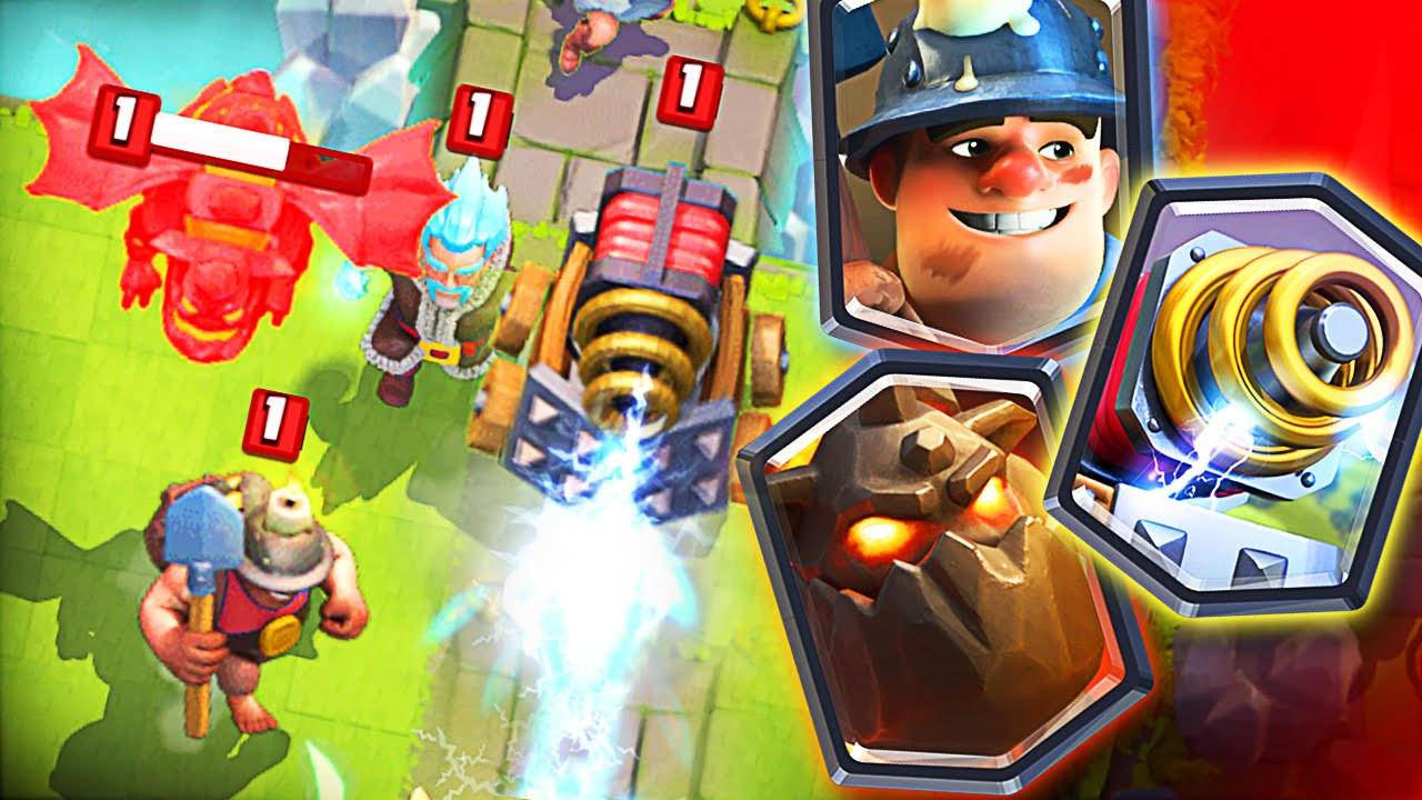 Sparky, Lava Hound, and Miner are the New 'Clash Royale' Legendaries ...