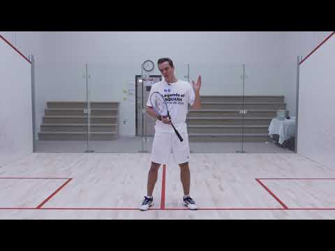 Squash tips: Attacking patterns of play with LJ Anjema - Volley drop - volley straight