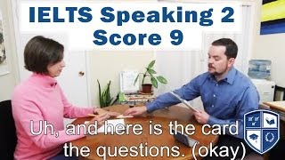 IELTS Speaking With Native English Speaker Subtitles Score 9 Example 2
