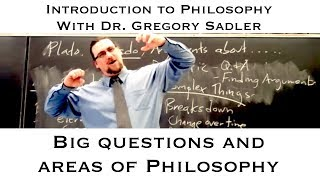Intro To Philosophy: Big Questions And Areas Of Philosophy