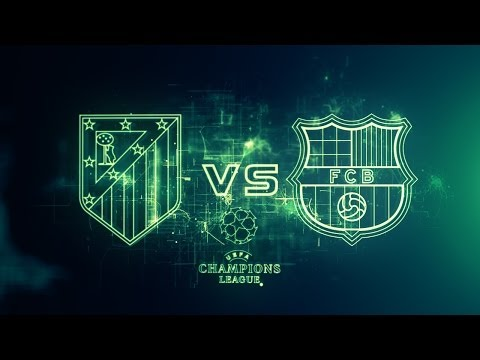Atletico Madrid Vs Barcelona FC UEFA Champions League Cuartos de Final Vuelta