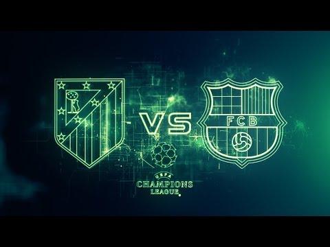 Atletico Madrid Vs Barcelona FC UEFA Champions League Cuartos de Final Vuelta