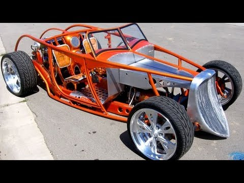 "1933 Ford Speedstar Roadster Electric Hot-rod ""e-rod"" Build Project"