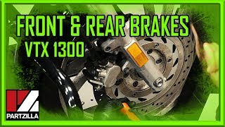 7. How to Change the Brake Pads on a Honda VTX 1300 | Partzilla.com