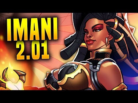 Imani Is Here And She Might Be OP!  | Paladins 2.01