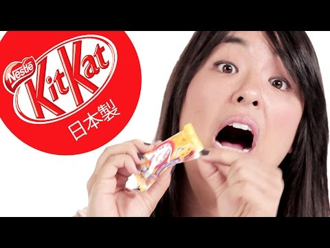 "japanese - We asked a bunch of Americans to sample Japanese Kit Kats… Share on Facebook: Like BuzzFeedVideo on Facebook: http://on.fb.me/18yCF0b MUSIC ""Oolong Brew"" Lic..."