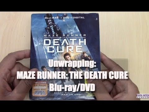 Unwrapping | 'MAZE RUNNER: THE DEATH CURE' Blu-ray/DVD/Digital Combo Pack