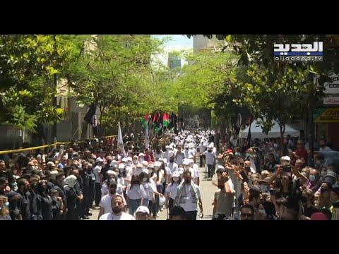 """LIBAN – """"Ton tour viendra, Samir"""" : une parade du """"Parti syrien national social"""" (parti libanais!) provoque la colère des FL qui dénoncent un appel au meurtre"""