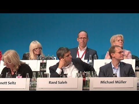 Berliner SPD Vorstand votiert gegen große Koalition / ...