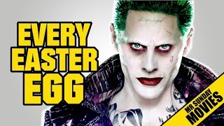 SUICIDE SQUAD All Easter Eggs, Cameos & References