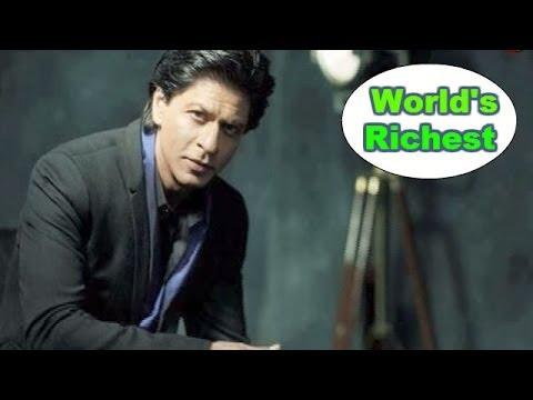 Shahrukh Khan named world's 2nd RICHEST actor