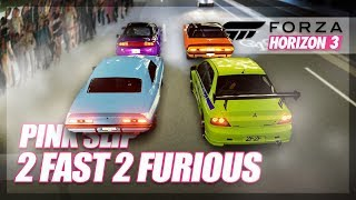 Nonton Forza Horizon 3   2 Fast 2 Furious Recreation   Pink Slip Drag Race  Film Subtitle Indonesia Streaming Movie Download