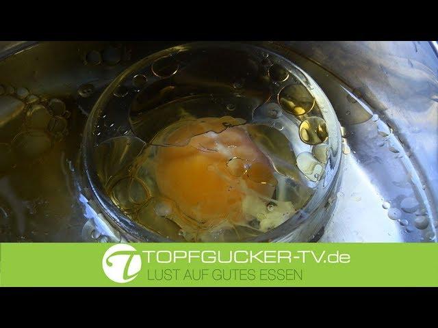 Pochiertes Eigelb in Sesamöl | Rezeptempfehlung Topfgucker-TV