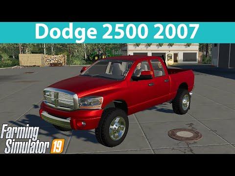 JD 2007 Dodge 2500 V1.0