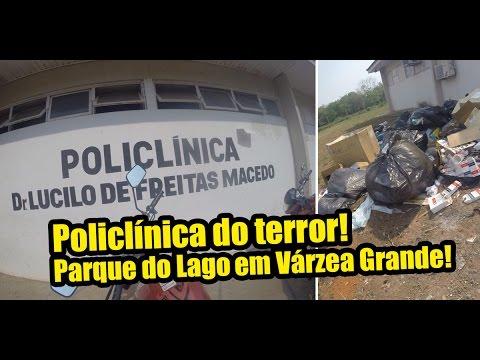 Policlínica do Terror, no Parque do Lago em Várzea Grande