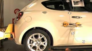 Bumper test trasero Alfa Romeo Mito