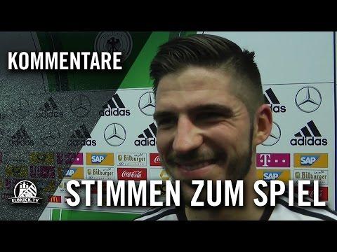 Die Stimmen zum Spiel (Deutschland - England, Futsal-Länderspiel, Test-Rückspiel) | ELBKICK.TV