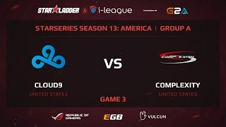 Cloud9 vs coL, game 3