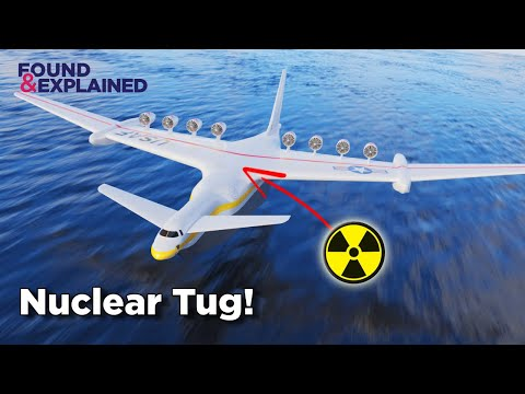Nuclear Powered Flying Tug - The Plane To Pull C-5s Across The Atlantic